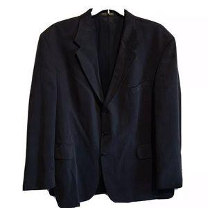 Oscar De La Renta Mens 3-Button Blazer TENCEL™
